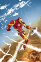 Iron Man Commish Colors by pyroglyphics1