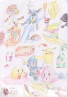 Super smash sketch dump by stargirl5286
