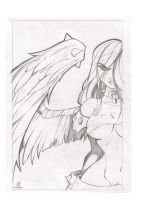 sketch angel by celaoxxx