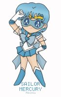 Chibi Sailor Mercury: level 1 by Phi-sen-tea