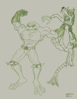 Battletoads by blakksaw