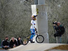 BMX Race - French Cup 2015 - Marina Pajon by IsK4nD3R