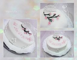 Japanese cake by Mandy0x