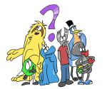 Ask Hex and friends by Hexaditidom