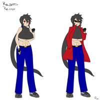 Rai-chan new ref by Raisen-kun