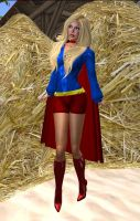 Hay!  It's Supergirl! by EthereaS