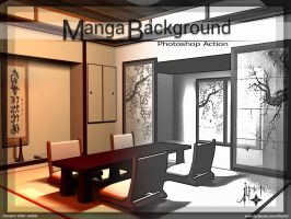 Manga Background from Photos by theAlfier