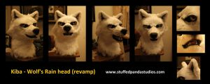 Kiba Wolf's Rain head by stuffedpanda-cosplay