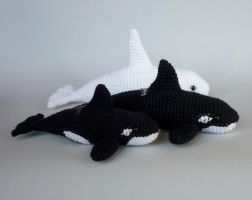 Orca pod by LunasCrafts