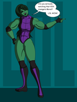 She-Hulk is Amused by DrasticAction