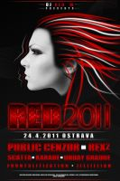 RED 2011 poster by PublicCenzor
