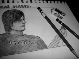 The Drawing of Tom Searle. by littleemmy