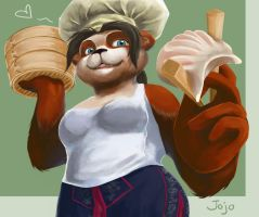 Jojo the Pandaren Chef by Frostocelot