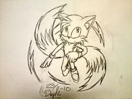Collab part: Tails by Drytil