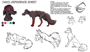 Yako -ultimate reference sheet- by Kittengoo