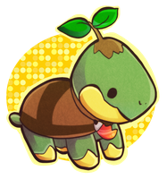 Turtwig by tabby-like-a-cat