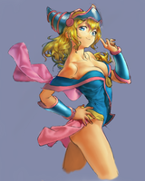 Dark Magician Girl by jpeg96