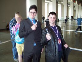 Awsome con DC 2014 the Doctor's Who by Zamboniman