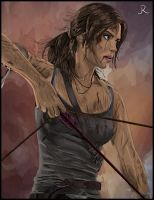 Lara Croft - Tomb Raider #2 (Close-Up) by SpideyVille