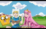 adventure time to kiss a princess by hikariangelove