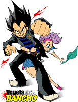 Bulma and Vegeta 3 by piyo119