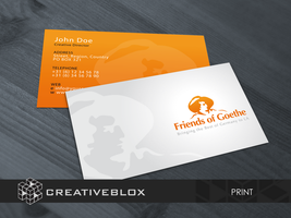 FOG Business Card Print Design by creativeblox