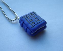 River Song Diary - Doctor Who Necklace by RavenMedia
