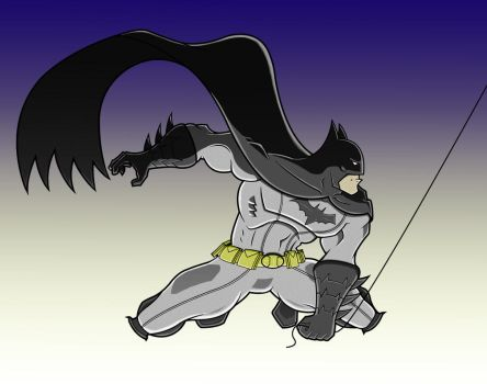 Caped Crusader by GearBluesRevolver