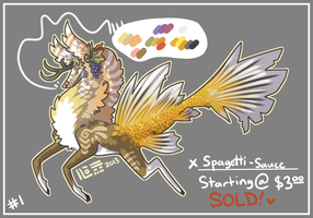 DESIGN AUCTION - Fishtail Kirin 1 (CLOSED) by Riftmaw