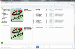 Gnome Windows Media Player 12 by fede18