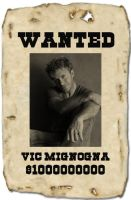 Wanted: Vic 'awesome' Mignogna by Lady-Koisuki