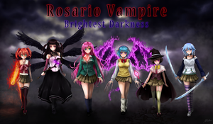 Rosario Vampire: Brightest Darkness Saga Cover by LordDaemon785