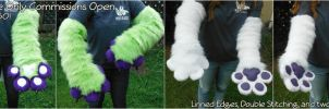 Arm Sleeves Only Commissions Open! by ErrorFactor