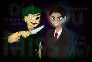 No Longer Contained | Darkiplier, AntiSepticEye by Mooshrom45