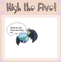High the Five- Danny by MarietheDragonwolf