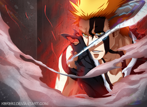 Ichigo New Form - Bleach 675 by k9k992