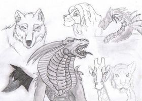 Sketch page feb 18th by witchiamwill