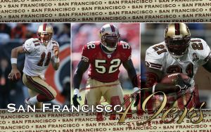 San Francisco 49ers Wallpaper by grizzlee503