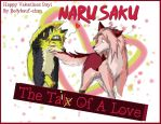 Happy ValenTAILS Day! -NaruSaku Wolf Style- by Bollybauf-chan