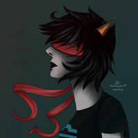 Clown Hunting - Homestuck by LittleMissTwitchy