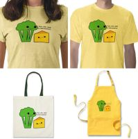 Broccoli and Cheese by hellohappycrafts