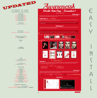 AIDS Awareness Journal  Vol. 1.1 - Easy.Install by poserfan