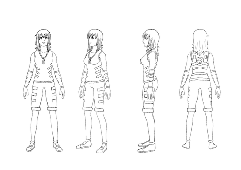 Wattina Turnarounds Clean Sketch by Sol-Tamida