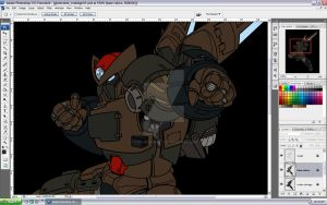 Giant Robot redesign WIP1 by torsoboyprints