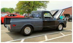 Partially Restored Chevy Truck by TheMan268