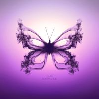 Butterfly I - Purple gradient by HYDRA-Artwork