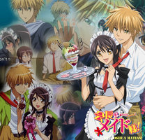 Misaki and Usui Momments by joshuchiha12