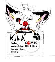 kiba red nose day by GingaKiba16