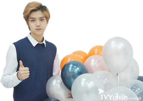 [Render] Luhan EXO in Ivy Club #29 by jangkarin