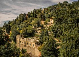 A house in Bergamo... by qwstarplayer